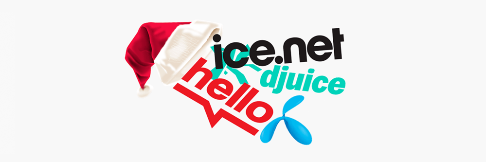 Mobiltelefoni Ice, Hello, Telenor, Djuice