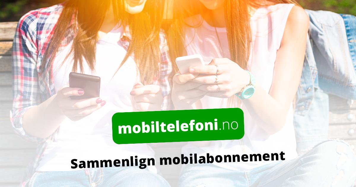 sammenlign mobilabonnement priser
